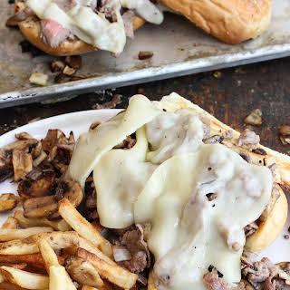 Weeknight Philly Cheesesteak Sandwiches.