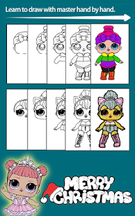 How To Draw LOL Doll Surprise -LOL DOLL Eggs Game - náhled