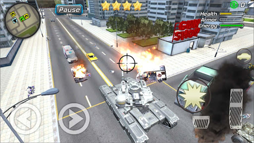 Crime Angel Superhero - Vegas Air Strike 1.0.8 screenshots 6