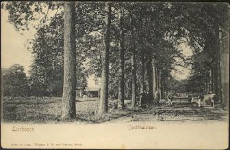 Photo: 1903 Vermoedelijk Nieuwe Dreef met op de achtergrond het Jachthuis.