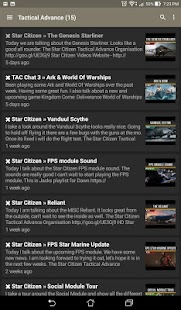 Star Citizen News- screenshot thumbnail