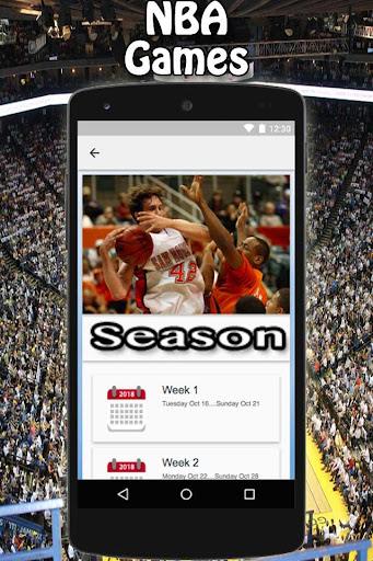 NBA Scores 1.0 screenshots 17