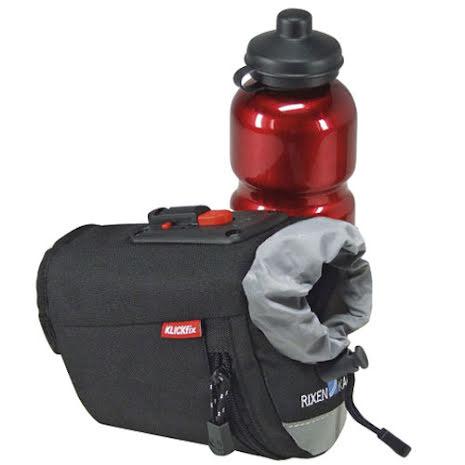 KLICKfix Micro Bottlebag sykkelveske, sort