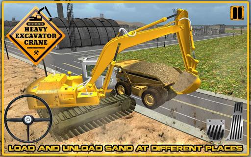 玩免費模擬APP|下載重型挖掘机起重机3D app不用錢|硬是要APP