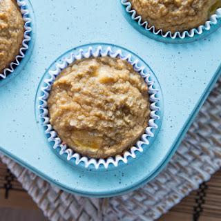 Coconut Peach Chia Muffins