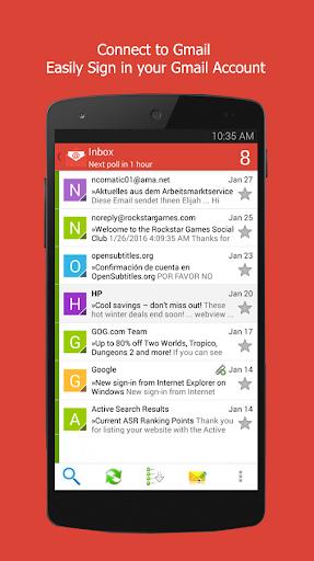 Sync Gmail App