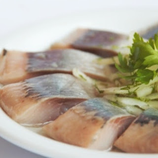 Herring With Marinated Mushrooms