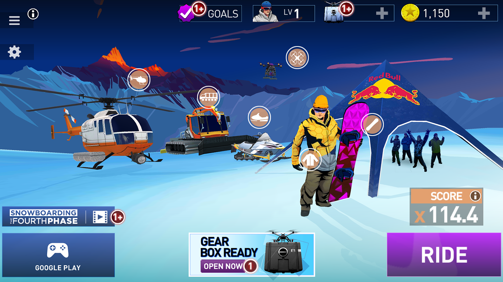 Snowboarding The Fourth Phase- screenshot
