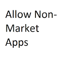 Allow Non Market Apps icon