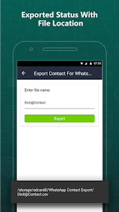 Export Contacts For WhatsApp 6