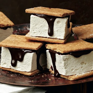 Max and Eli Sussman'S S'Mores with Maple-Bourbon Marshmallows Recipe