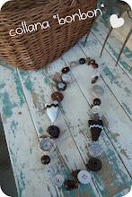 Photo: collana bonbon con cuoricini