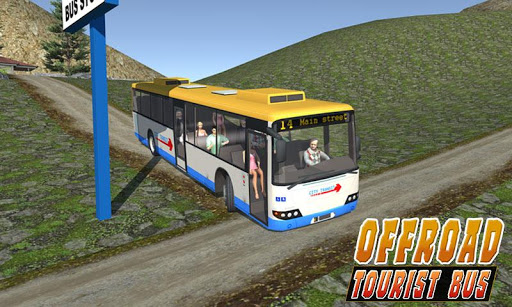 Uphill offroad bus driving sim 1.0.8 screenshots 7