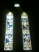Photo: This window at the Trinity Church, the replacement for the main St Marys as the funeral plots filled up.