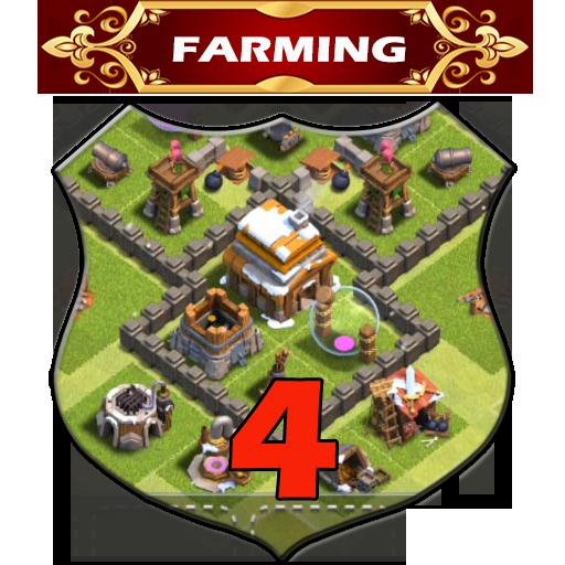 Town Hall 4 Farming Base Layouts