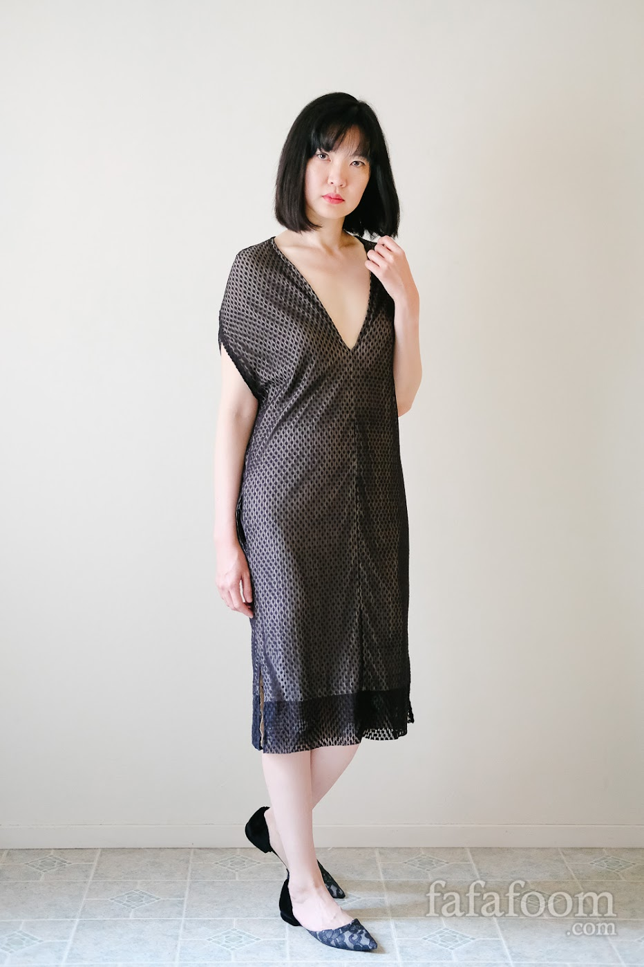 Result: Reversible Dress with Pockets - DIY Fashion Garments | fafafoom.com