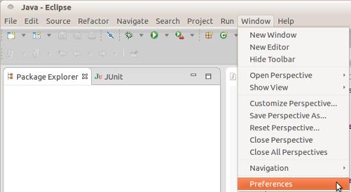 Importando a configuração do Formatter Java para a IDE Eclipse