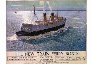 """Photo: Poster s.s. """"Twickenham ferry"""" (National Railway Museum, York)"""