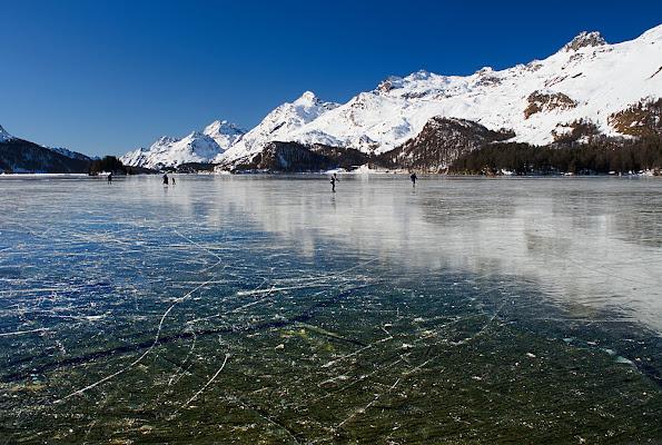 Sul lago ghiacciato di gaspare_aita