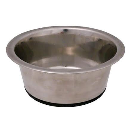 Hundskål Rostfri Antitip 250ml 9,5cm