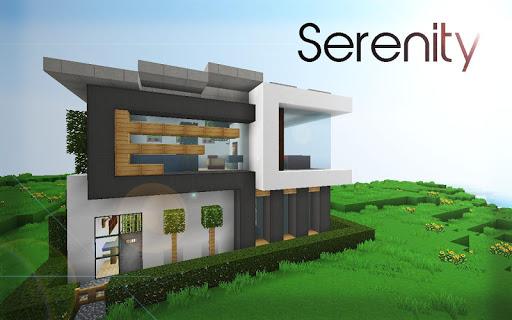 Modern House Ideas MCPE MODS