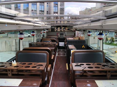 WILLER(網走バス)「レストランバス」 札幌8888 2階席 その1