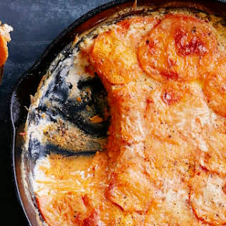 Sweetpotato Gratin.