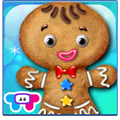 Gingerbread Dress Up XMAS Game