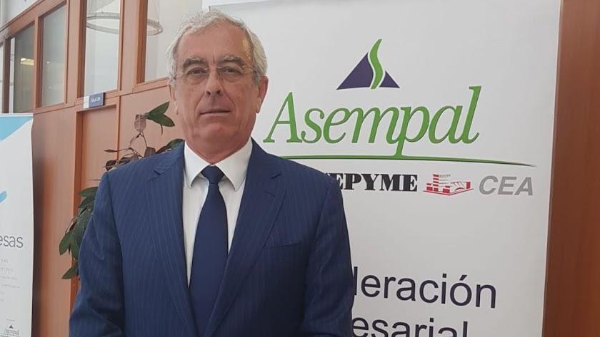 José Cano, presidente de Asempal.