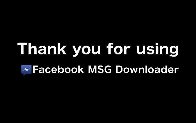 Message/Chat Downloader
