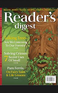 Reader's Digest UK - náhled