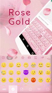 Rose-Gold-Emoji-Kika-Keyboard 1