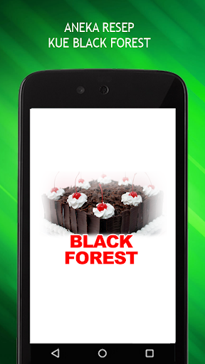 Resep Kue Black Forest