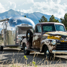 Going Vintage by Amy Laskye - Transportation Other ( 2017, eagle, vacation, co )