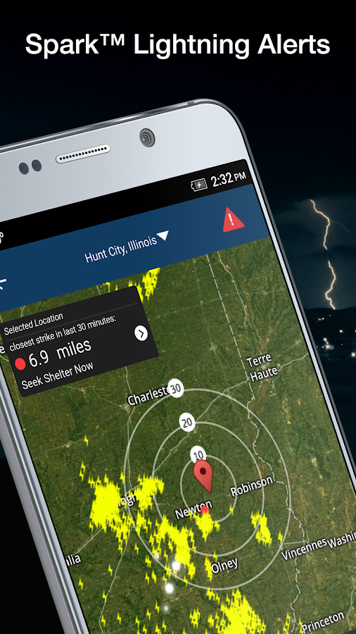 WeatherBug - Forecast & Radar- screenshot