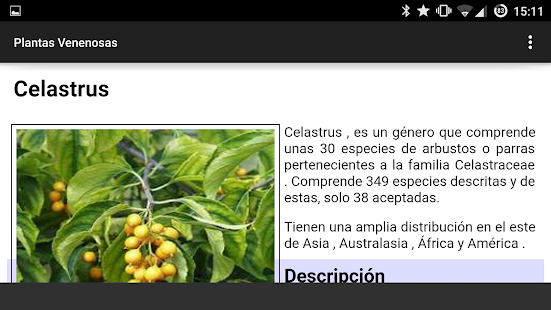 Plantas Venenosas- screenshot thumbnail