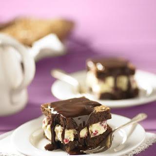 Brownie Ice Cream Sandwiches.