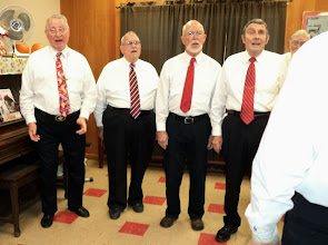 Photo: Senior Center Singout Leads and Tenors