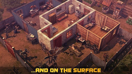 Dawn of Zombies Survival Apk Mod Free Craft + God Mod 2