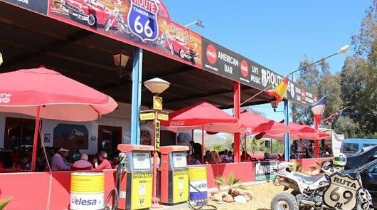 Restaurante Route 66, un paraíso norteamericano en el desierto de Tabernas