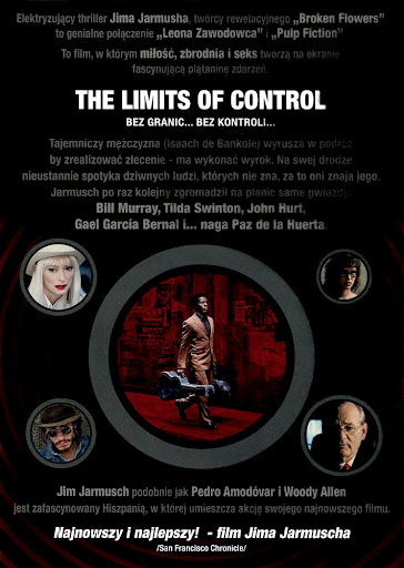 Tył ulotki filmu 'The Limits Of Control'
