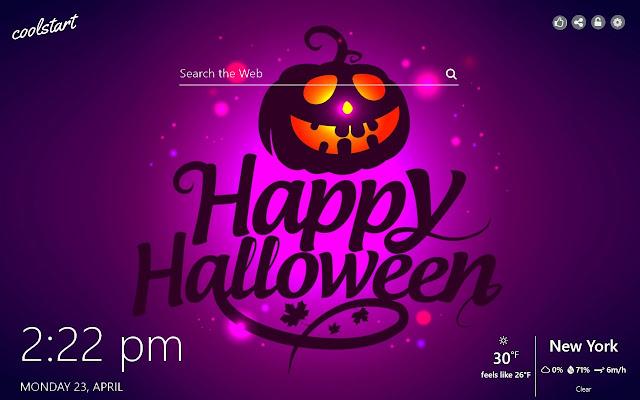 Happy Halloween HD Wallpapers New Tab Theme