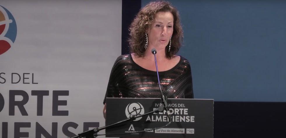 Intervención de María Vázquez, 1ª teniente de alcalde del Ayuntamiento de Almería.