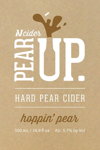 Logo of NV Cider  Hoppin' Pear