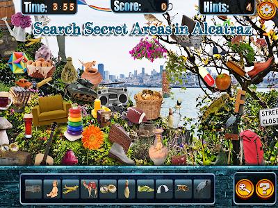 Hidden Objects Alcatraz Escape screenshot 1