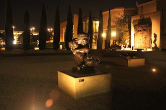 Photo: Rodin sculptures at night