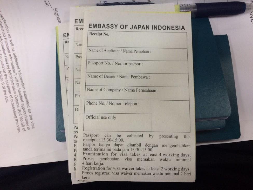Mengurus Visa Waiver Jepang
