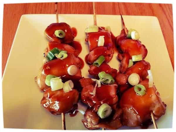 Filipino Chicken Bbq Skewers