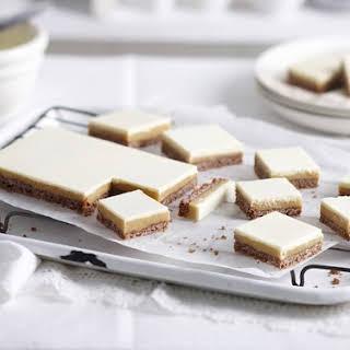 White Chocolate Caramel Slice.