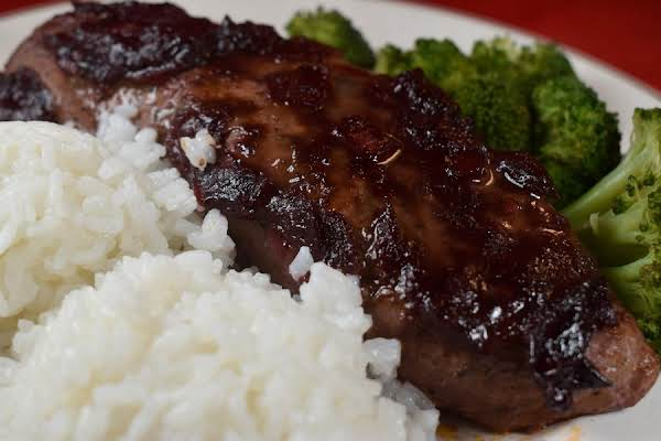 Roast Pork Tenderloin With Plum Barbecue Sauce